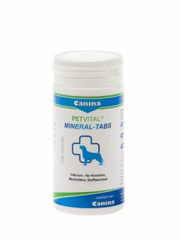 Купить Canina Petvital Mineral Tabs в таблетках (Петвиталь минерал табс) для укрепления связочного аппарата собак